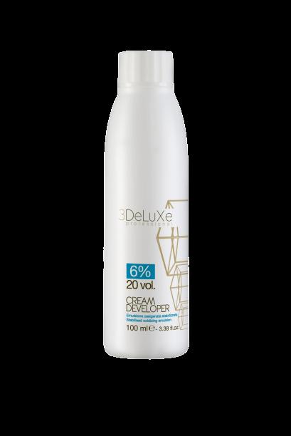3DeLuXe Cream developer 6% 20vol. 100ml