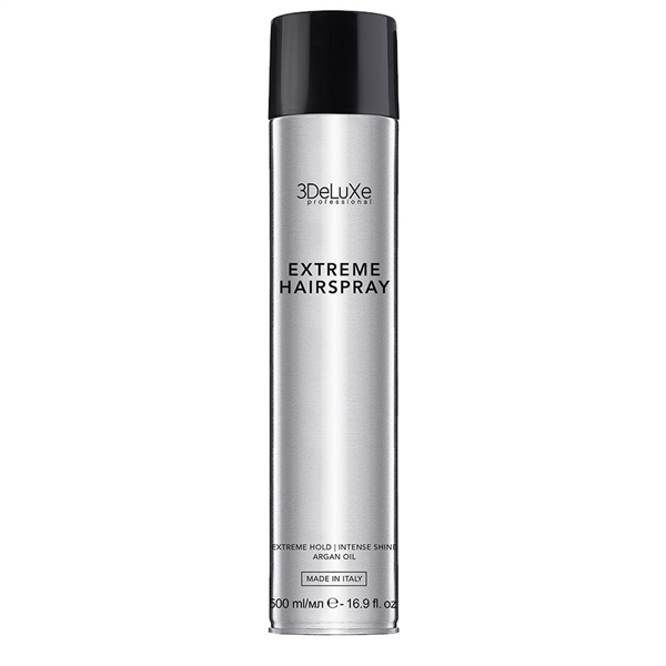 3DeLuXe Hair Spray Extreme Hold 500ml