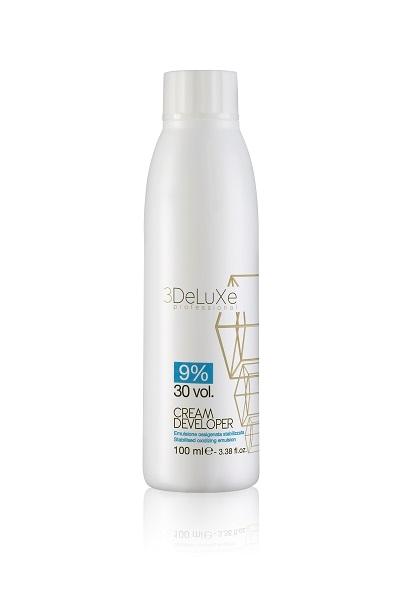 3DeLuXe Cream developer 9% 30vol. 100ml